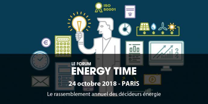 Venez nous rencontrer le 24 octobre prochain à Energy Time !