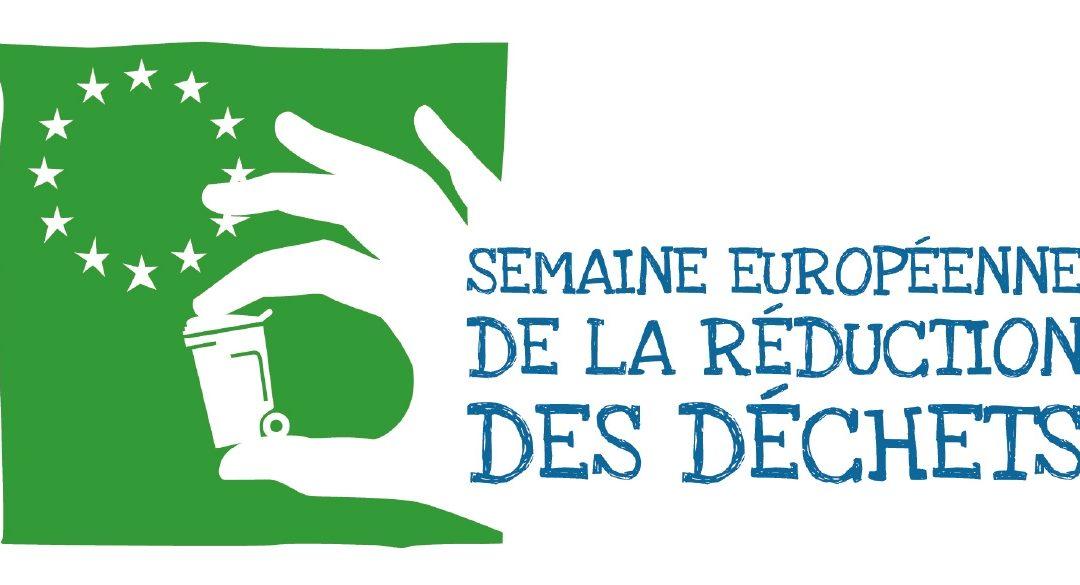 Édition 2019 de la Semaine Européenne de la Réduction des Déchets : du 16 au 24 novembre