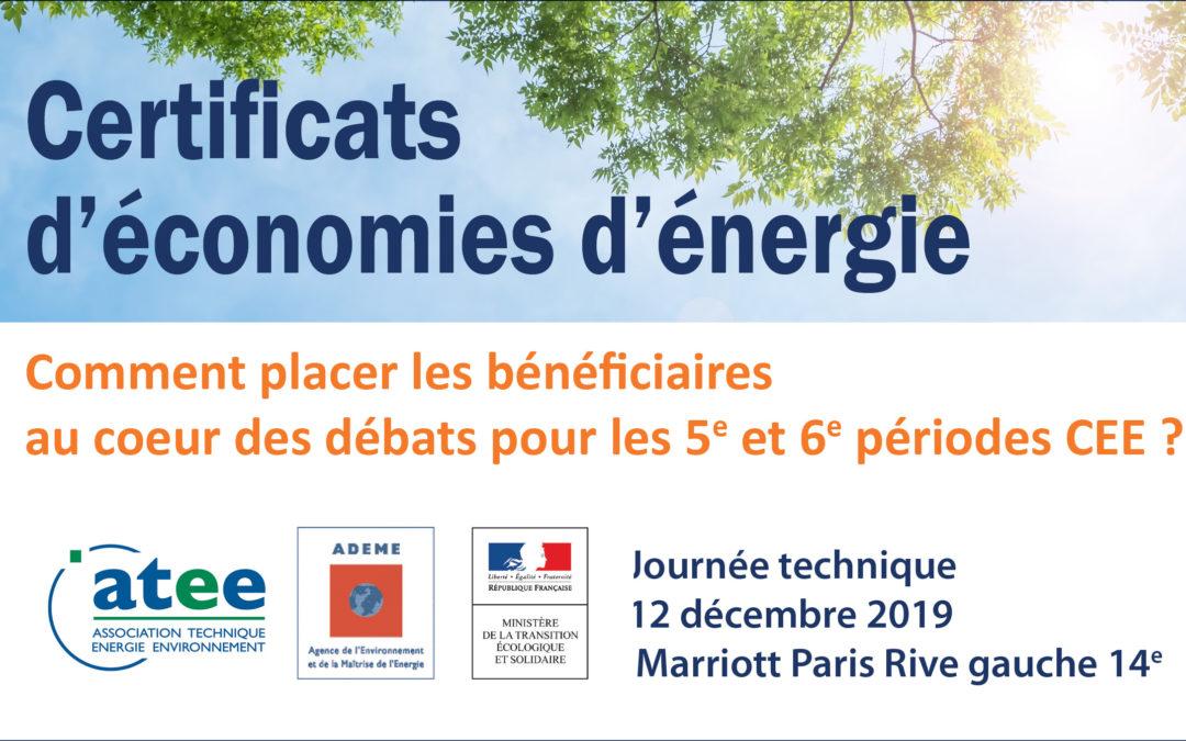 Des données pour les Certificats d'économie d'énergie