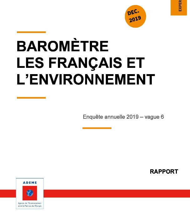 #Baromètre « Les Français et l'environnement »