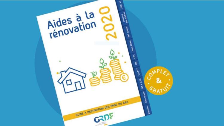 GRDF publie le guide « Aides à la rénovation 2020 »